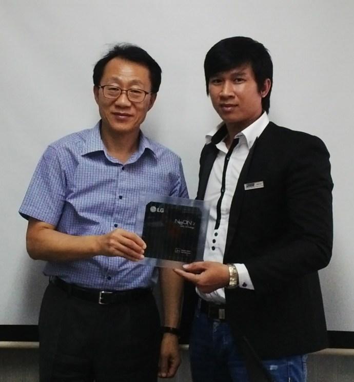 NISU là đại lý uỷ quyền của LG solar tại Việt Nam