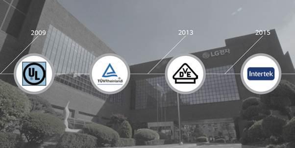 Tấm pin LG đạt được chứng nhận của 4 nhà chứng nhận lớn nhất thế giới