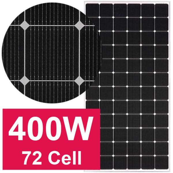 NISU pin mặt trời LG Neon2 400W 72 cell