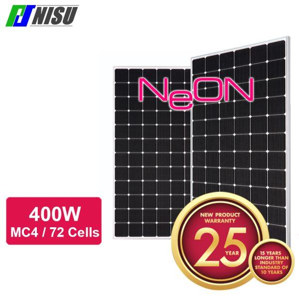 NISU pin mặt trời LG neon2 600w bao hanh 12 năm