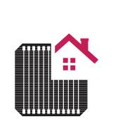 Pin mặt trời LG Neon2 400w có tính thẩm mỹ cao khi lắp đặt hệ thống điện mặt trờiặt trời trên mái: