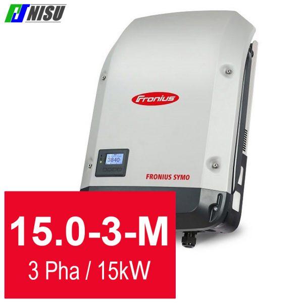Nisu solar biến tần hoà lưới Fronius Symo 15.0-3-M 3 pha 15 kW