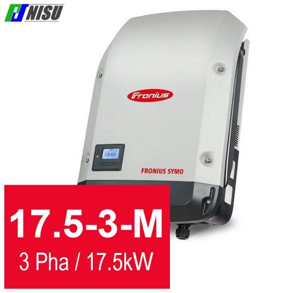Nisu solar biến tần hoà lưới Fronius Symo 17.5-3-M 3 pha 17.5 kW