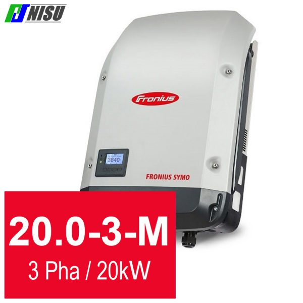 Nisu solar biến tần hoà lưới Fronius Symo 20.0-3-M 3 pha 20 kW
