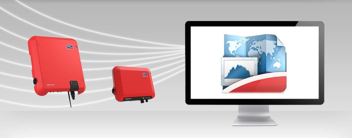 SMA sunny tripower 25000TL web connect theo dõi và giám sát online
