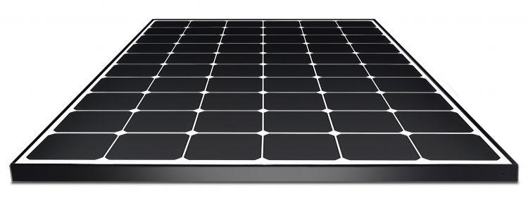 Tam pin mat LG Neon R Solar
